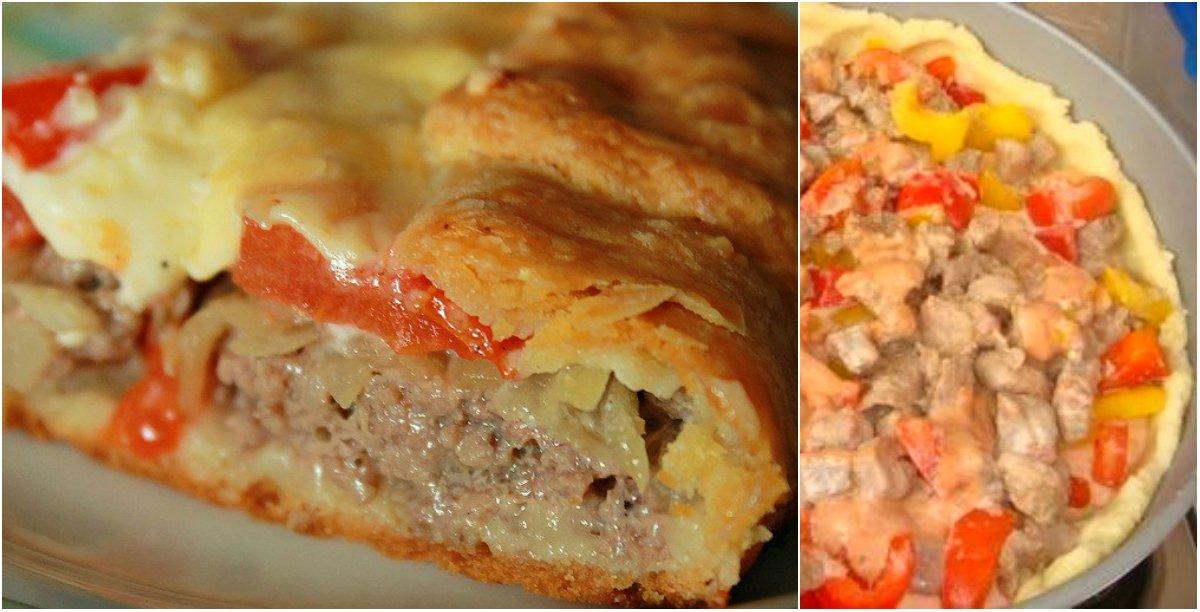 Пироги с фаршем и картошкой простые рецепты