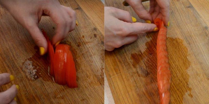 овощная нарезка к шашлыку
