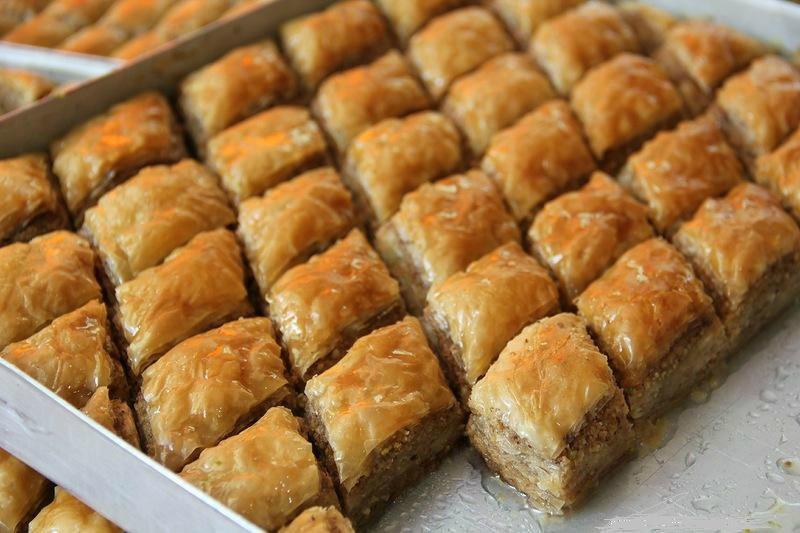 пахлава из слоеного теста рецепт с фото армянская