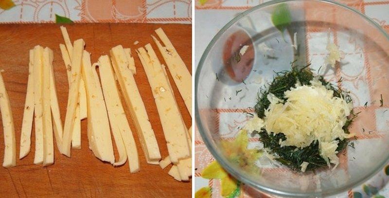 палочки из лаваша с сыром