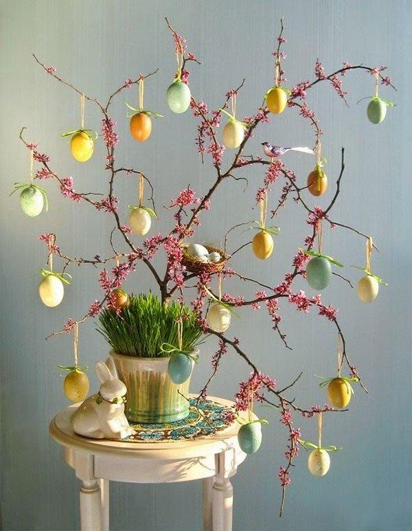пасхальные композиции из цветов