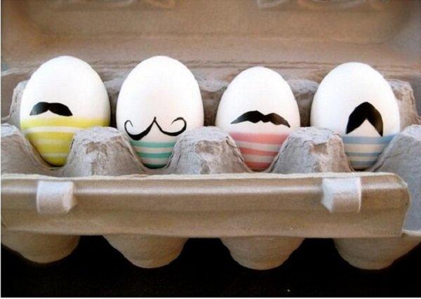 усатые яйца
