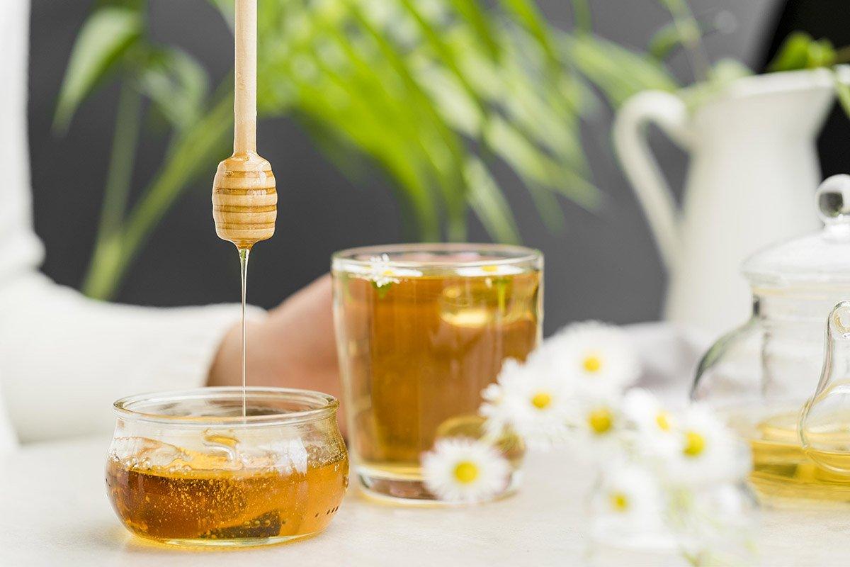мёд в баночке