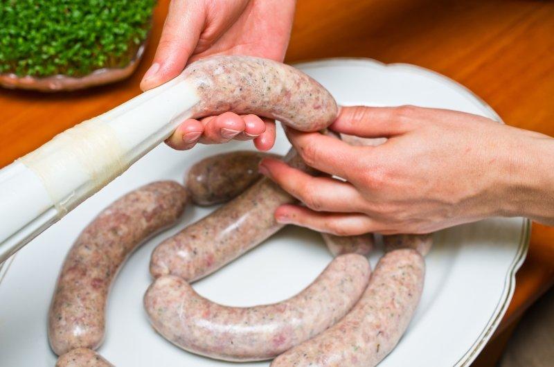 как готовить домашнюю колбасу печеночную