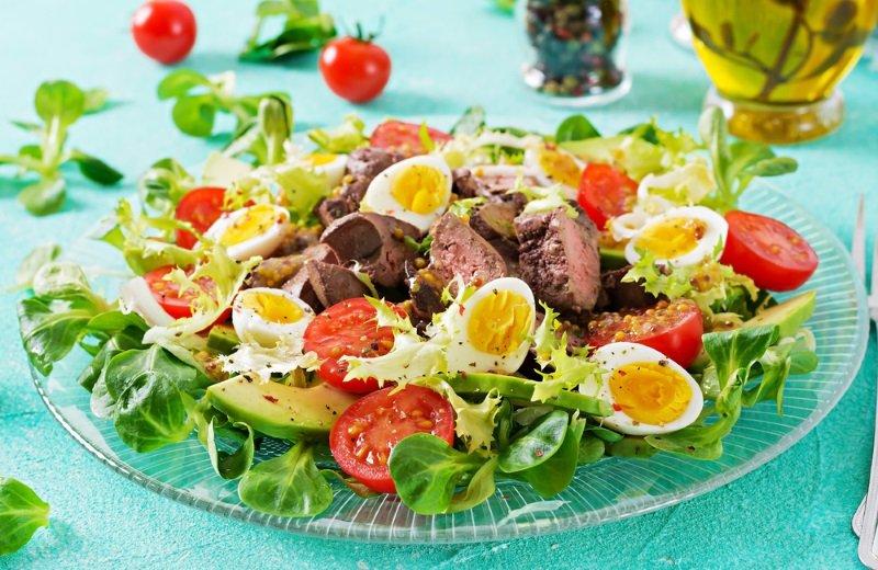 печеночный салат сытный