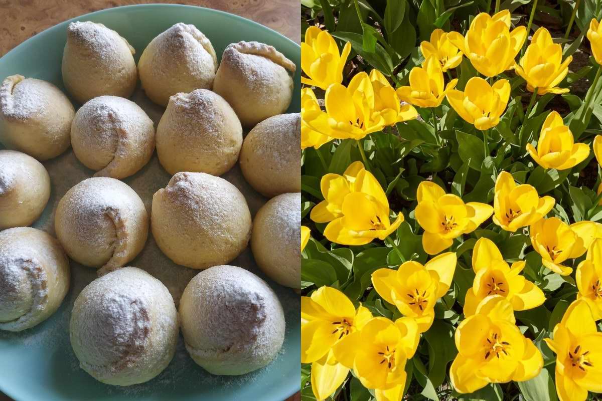 Печенье «Цветочки», чтобы вся семья наелась от души