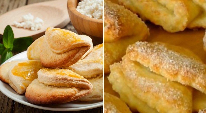 Когда у мужа очередной приступ хандры, готовлю творожное печенье «Гусиные лапки»