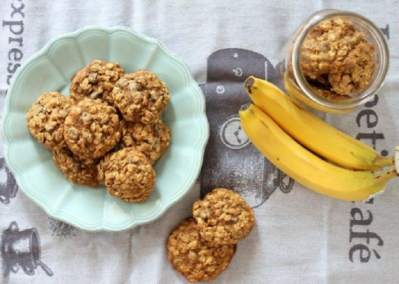 Банановое печенье: рецепт с фото меньше чем за 15 минут