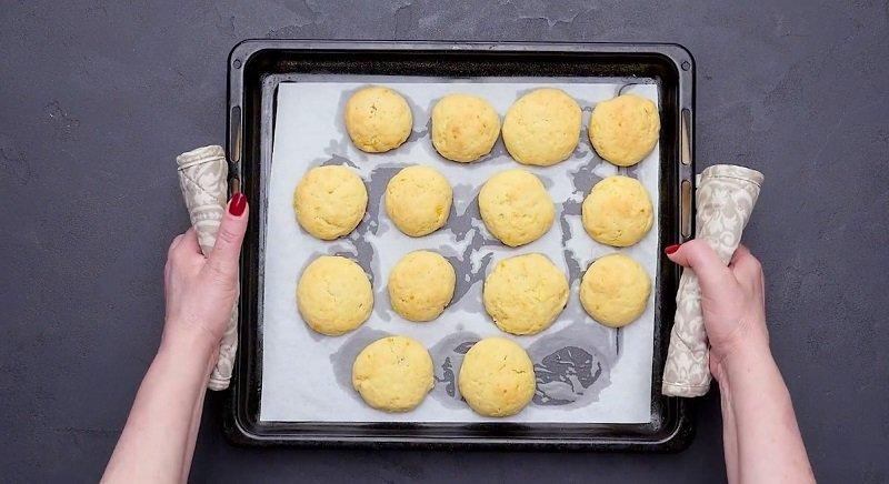 рассыпчатое печенье на вареных желтках