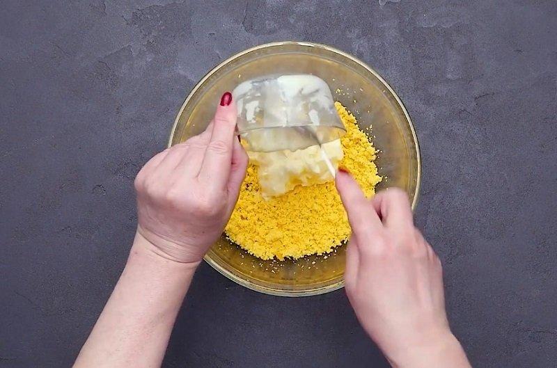 печенье на желтках рецепт