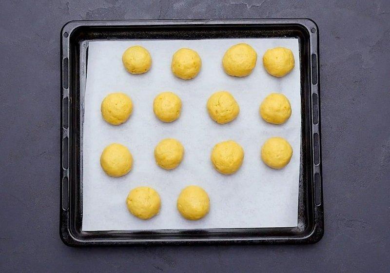 быстрое печенье на желтках