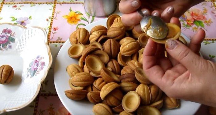 как сделать печенье со сгущенкой
