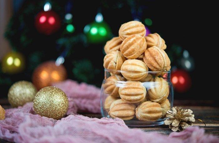 печенье со сгущенкой вареной