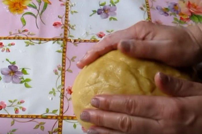 печенье со сгущенкой и орехами