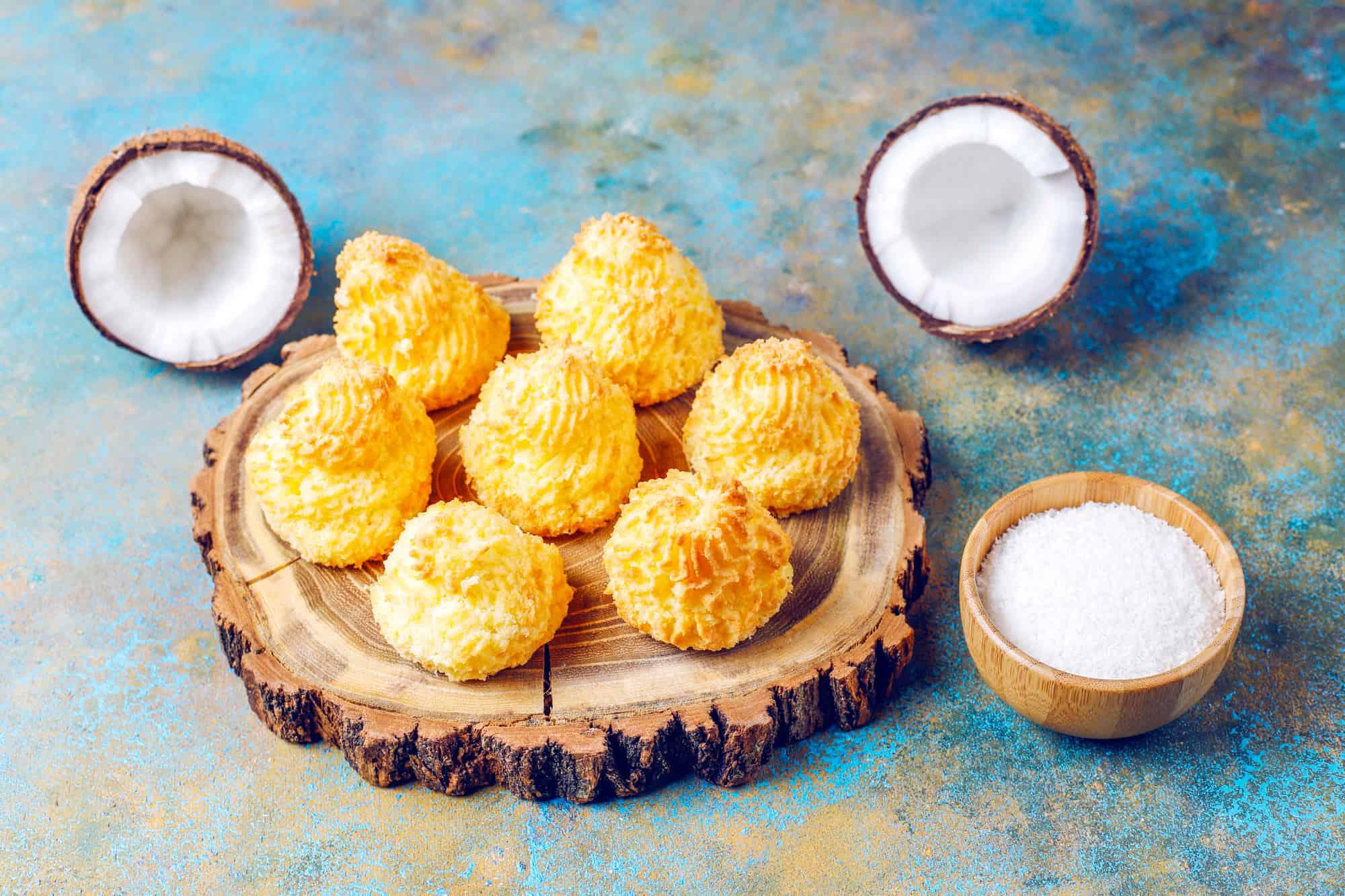 Кондитер подсказывает, как добиться воздушности кокосового печенья Кулинария,Выпечка,Готовка,Десерты,Кухня,Печенье,Рецепты,Сладости
