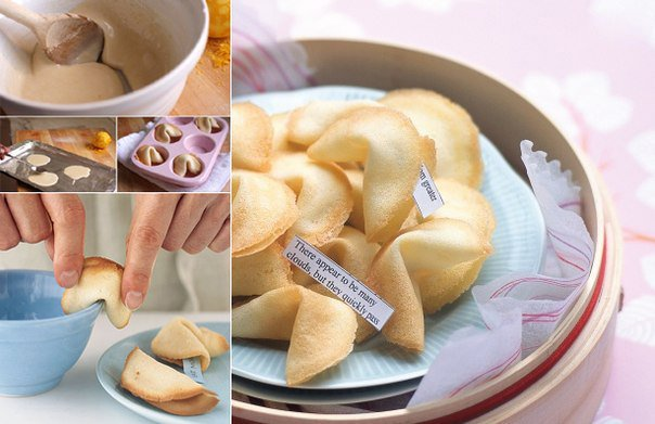 Как испечь печенье с предсказаниями