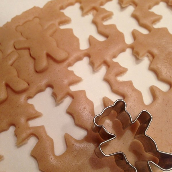 рецепты печенья в форме медведя