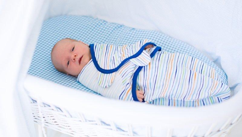 пеленание младенца