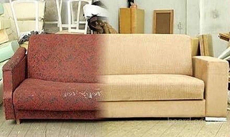 переделка старого дивана своими руками