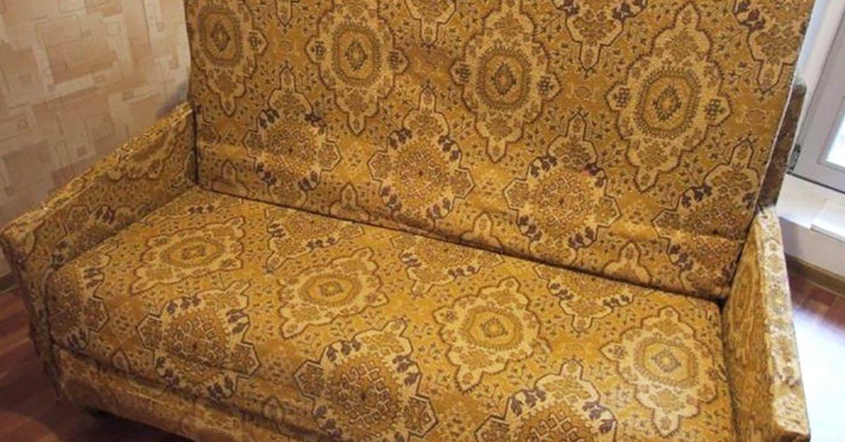 Как преобразит старый диван своими руками