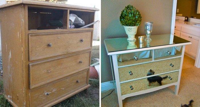Переделываем старую мебель своими руками идеи