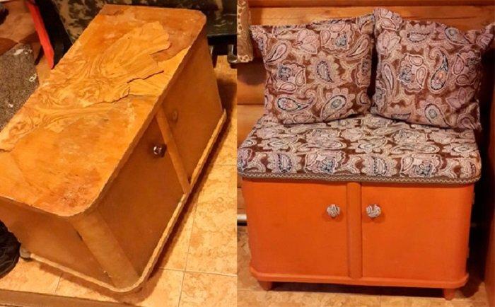 переделка старой мебели своими руками фото