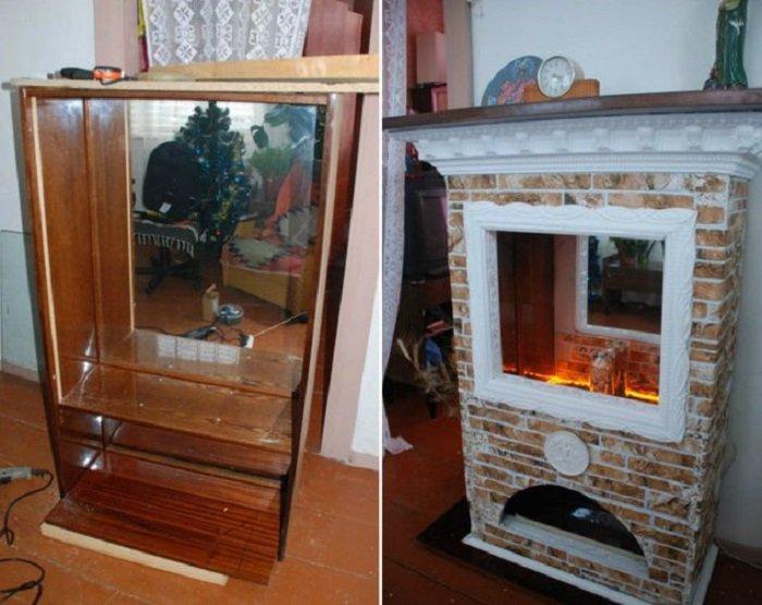 переделка старой мебели из дсп