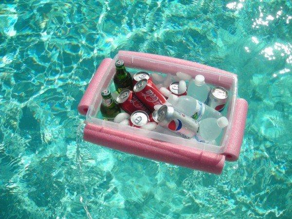 как сделать переносной охладитель напитков