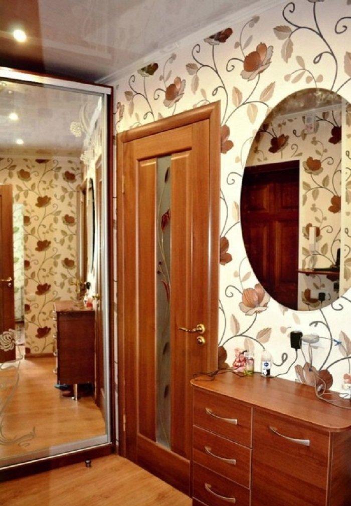 ремонт в однокомнатной квартире до и после