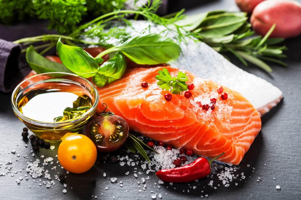 соленая красная рыба дома
