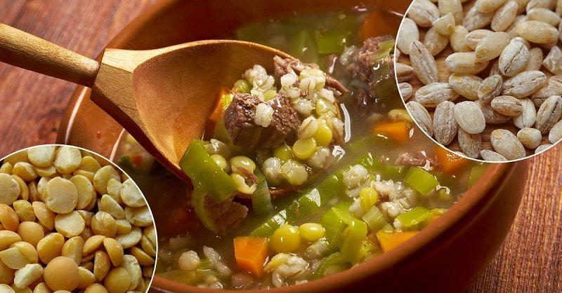 перловый суп калорийность