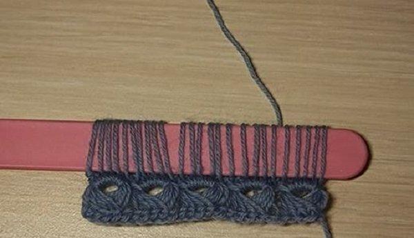 брумстик вязание