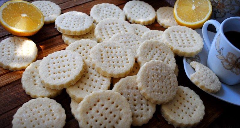 песочное печенье видео