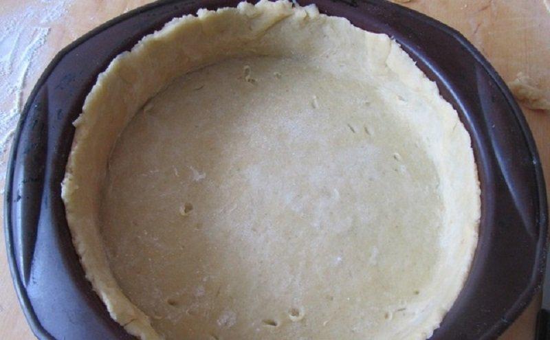 пирог с клубникой без дрожжей