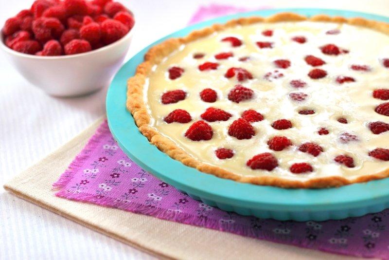 ягодный пирог на песочном тесте