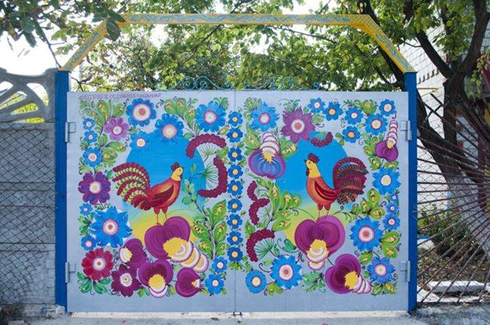 петриковская роспись в детском саду