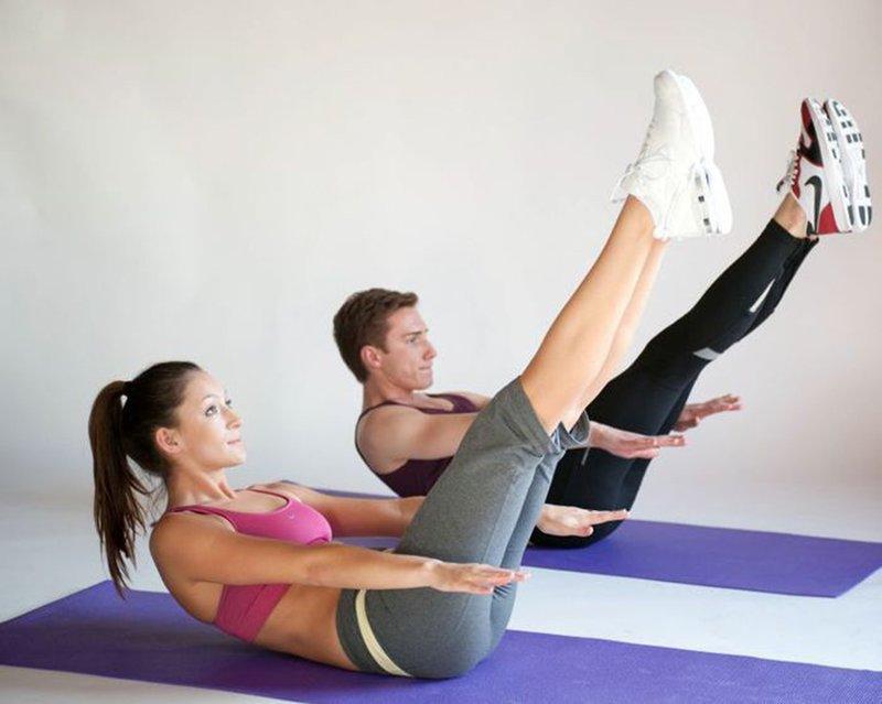 пилатес базовые упражнения