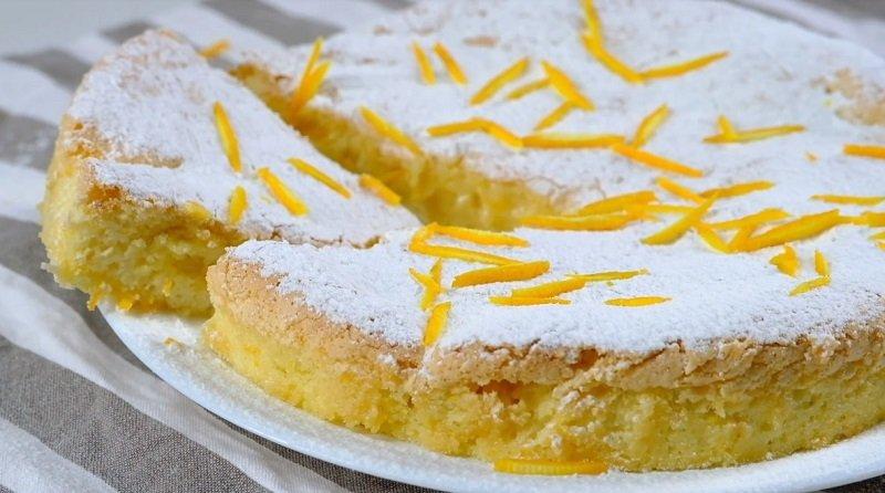 апельсиновый пирог быстро