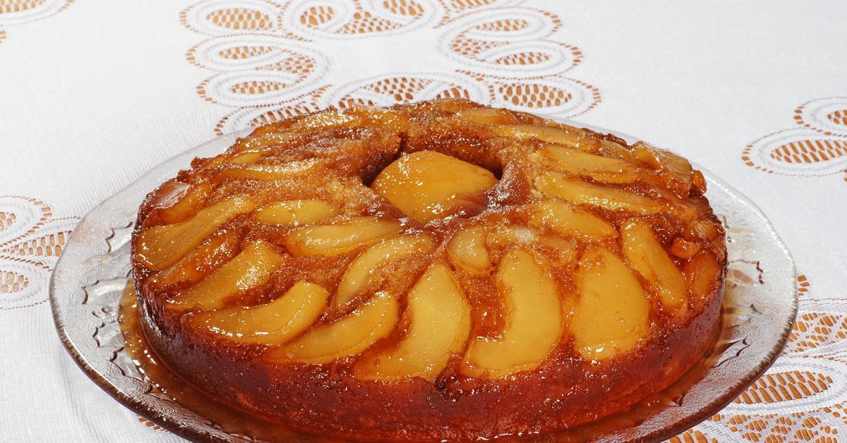 Как приготовить пирог с грушами на сливочном масле