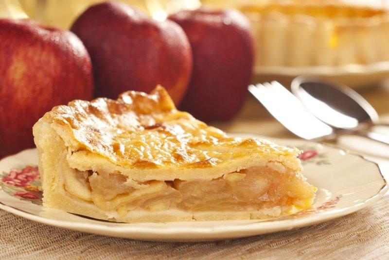 яблочный пирог без дрожжей