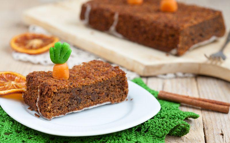 пирог с морковью и орехами