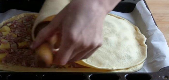 Искусство приготовления мясного пирога с картофелем кулинария
