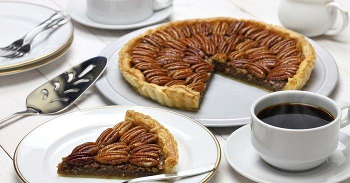 Изумительный пирог «Меласса с орехами» — просто песня!