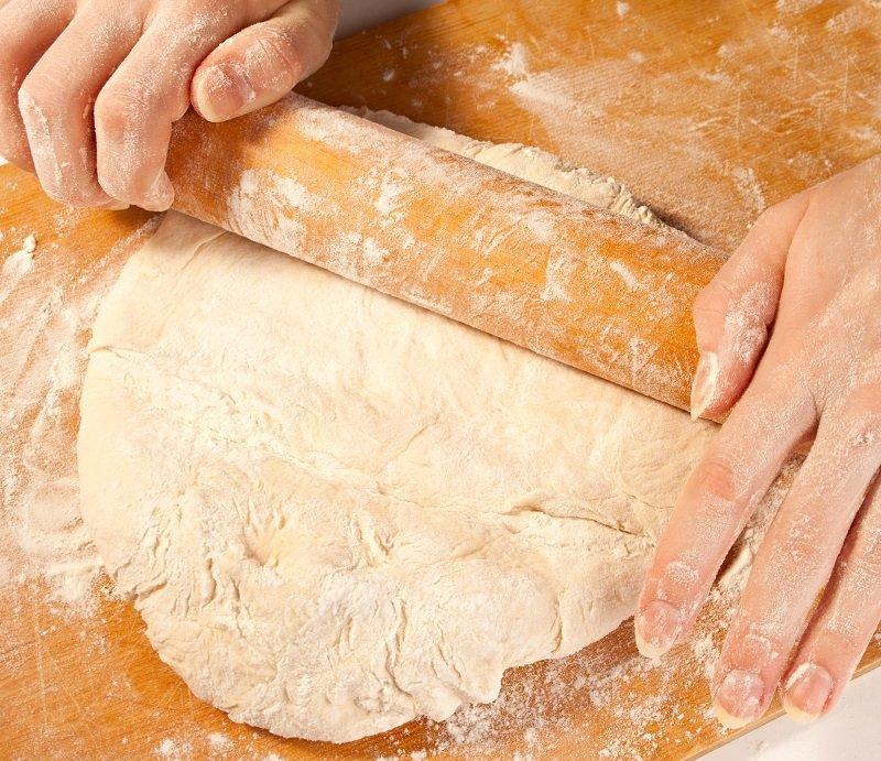 пирог с рисом в духовке