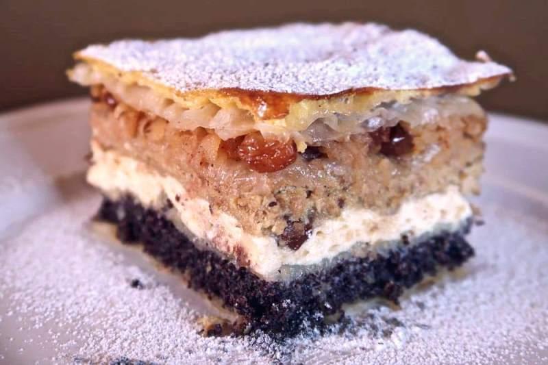 пирог с творогом в духовке
