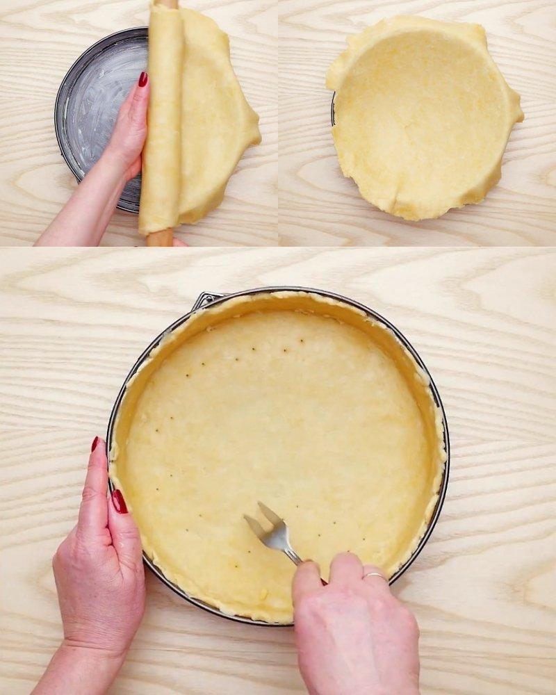 пирог с творожной массой в духовке