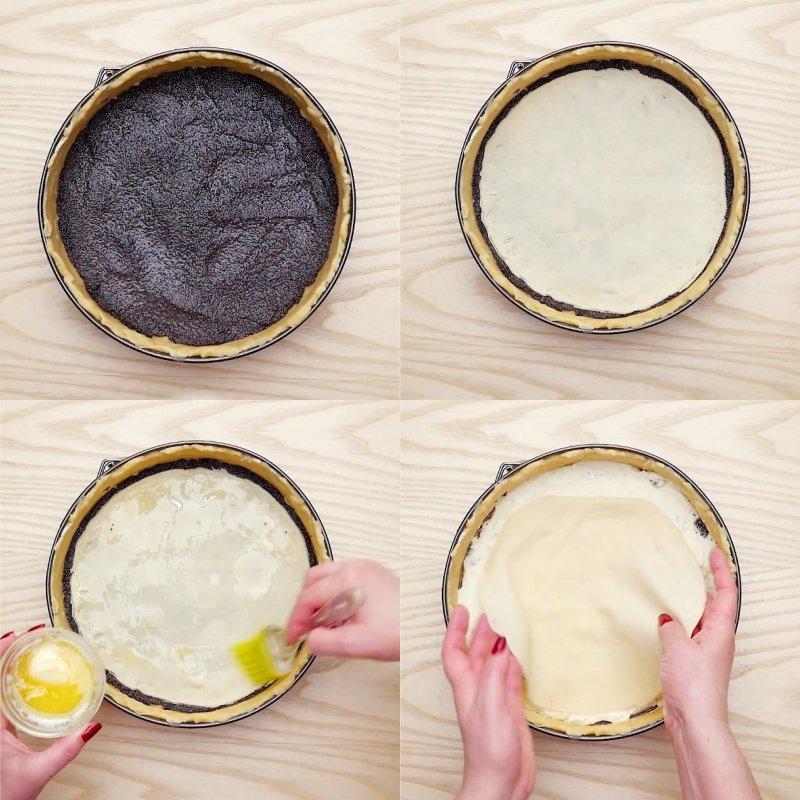 пирог с творожной начинкой в духовке