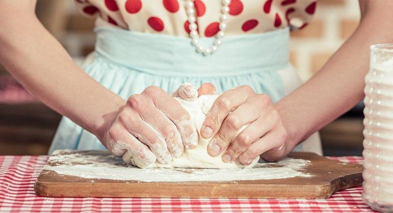 пирог с клубникой без разрыхлителя