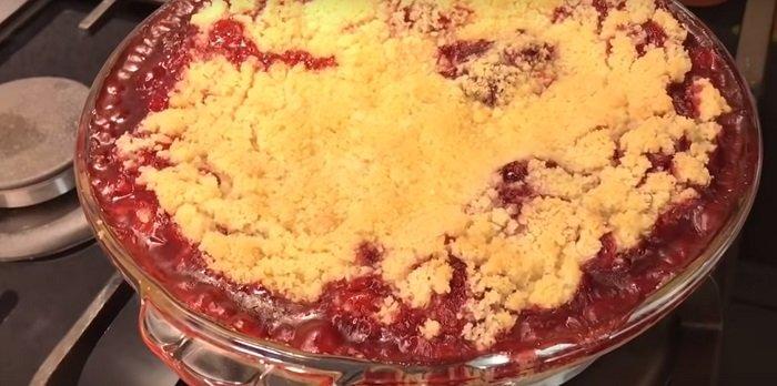ароматный пирог