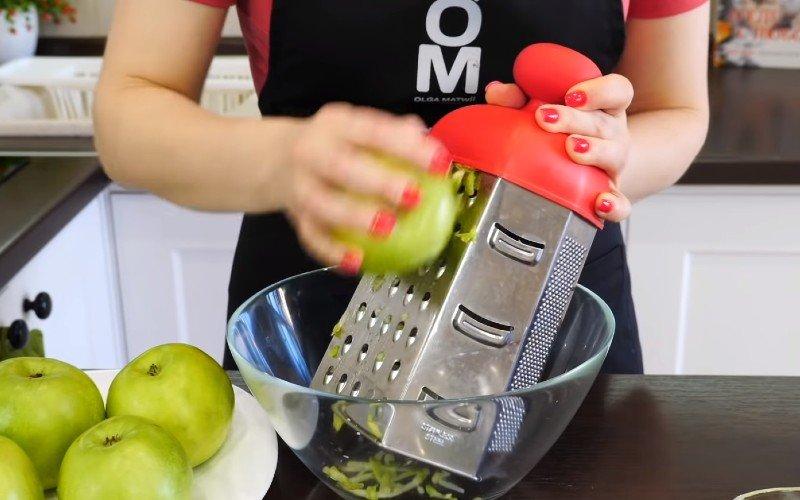 Рецепт насыпного яблочного пирога без замеса теста Кулинария,Начинки,Пироги,Тесто,Яблоки